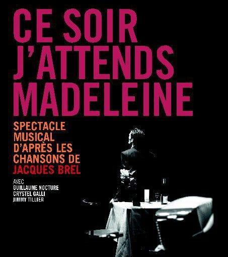 Affiche Ce soir j'attends Madeleine