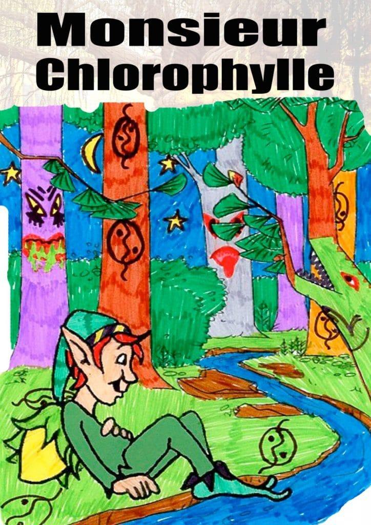 affiche de Monsieur Chlorophylle